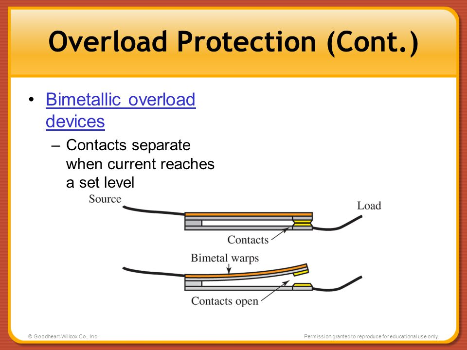 Overload Protection (Cont.)