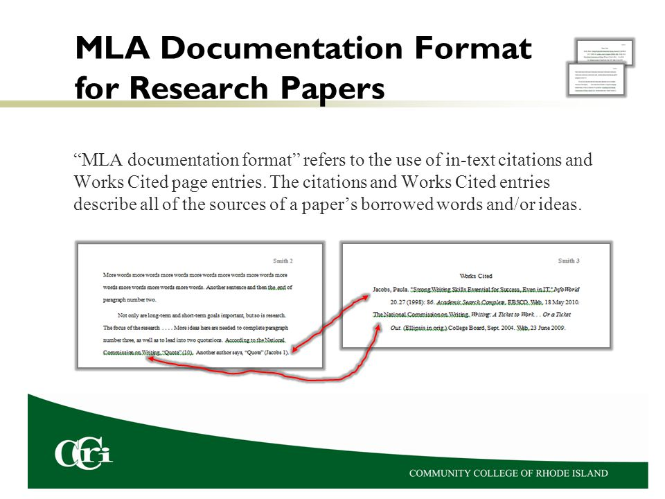 mla format for research papers 2011 01) if you've been asked to submit a paper in mla style, your instructor is asking you to format the page and present the content in a specific way.