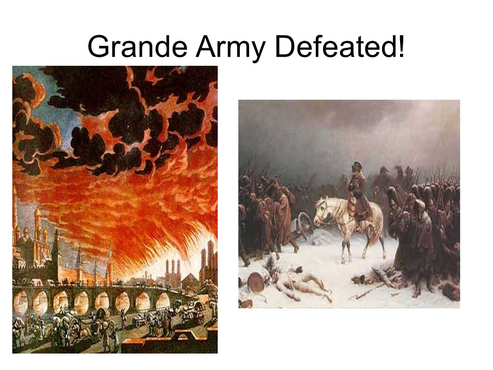 Grande Army Defeated!