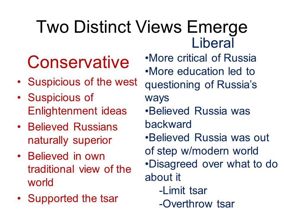 Two Distinct Views Emerge