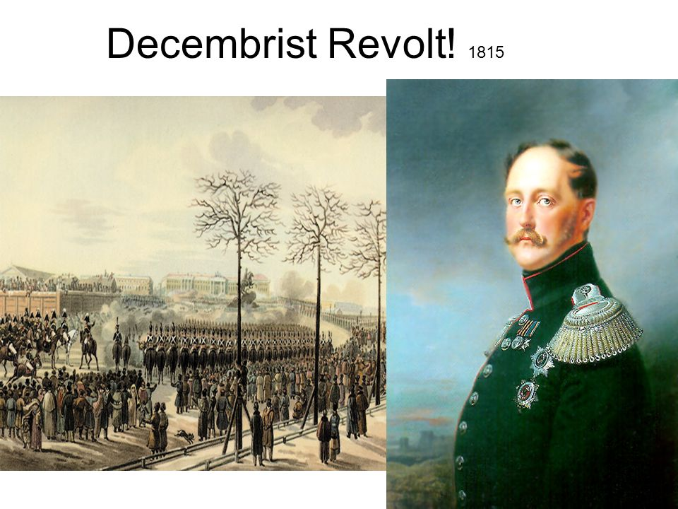 Decembrist Revolt! 1815