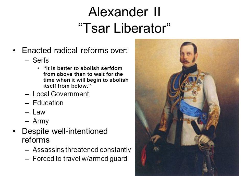 Alexander II Tsar Liberator