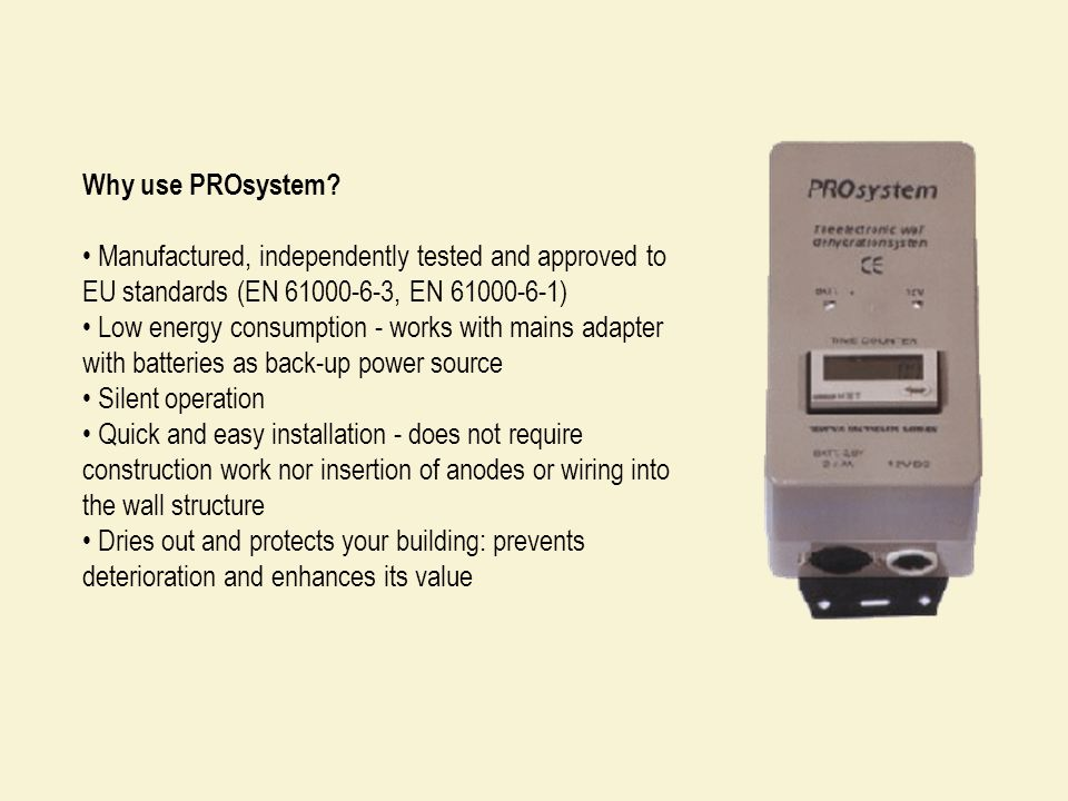 Why use PROsystem