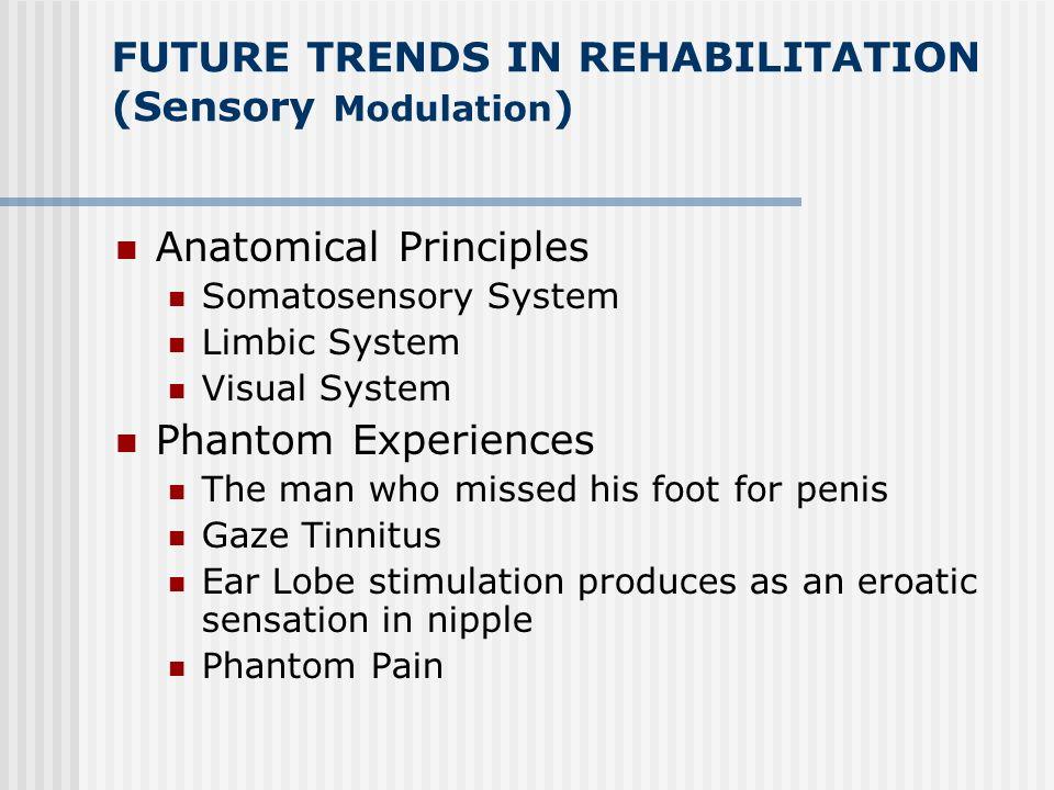 FUTURE TRENDS IN REHABILITATION (Sensory Modulation)