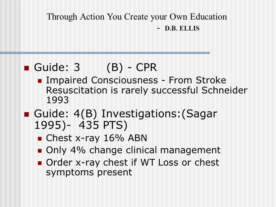 Guide: 4(B) Investigations:(Sagar 1995)- 435 PTS)