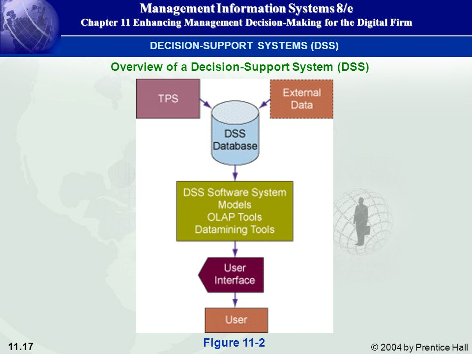 Overview of a Decision-Support System (DSS)