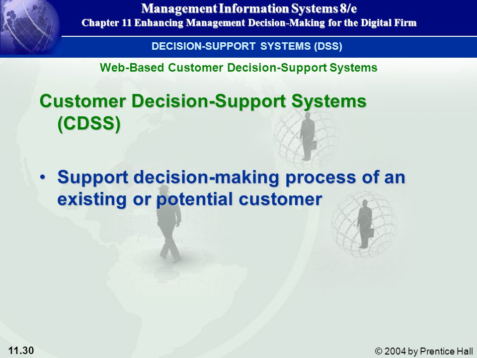 Customer Decision-Support Systems (CDSS)