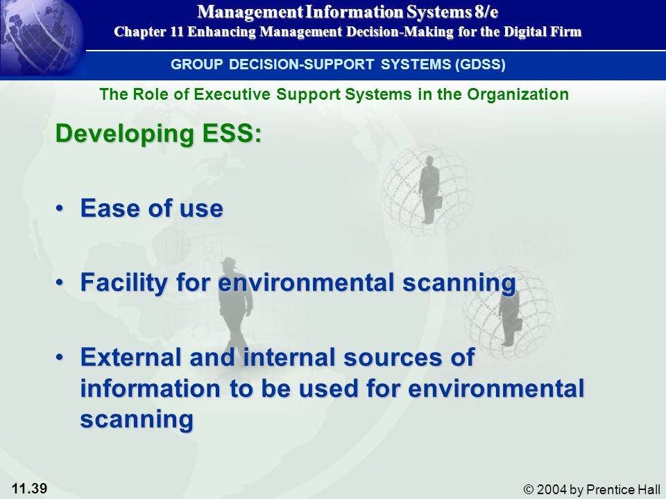 Facility for environmental scanning
