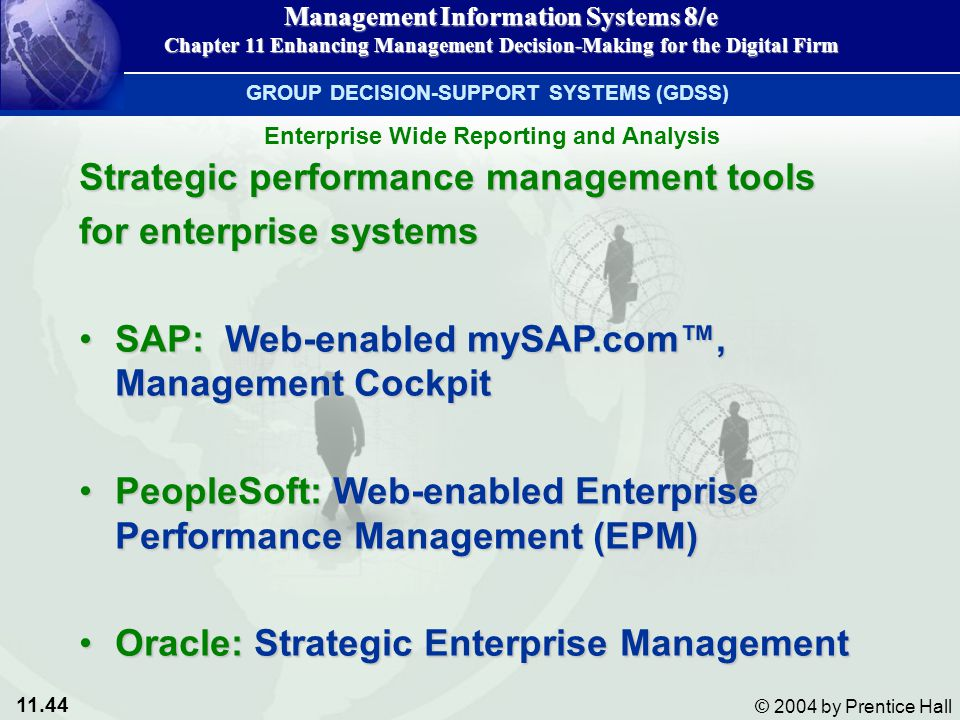 Strategic performance management tools for enterprise systems