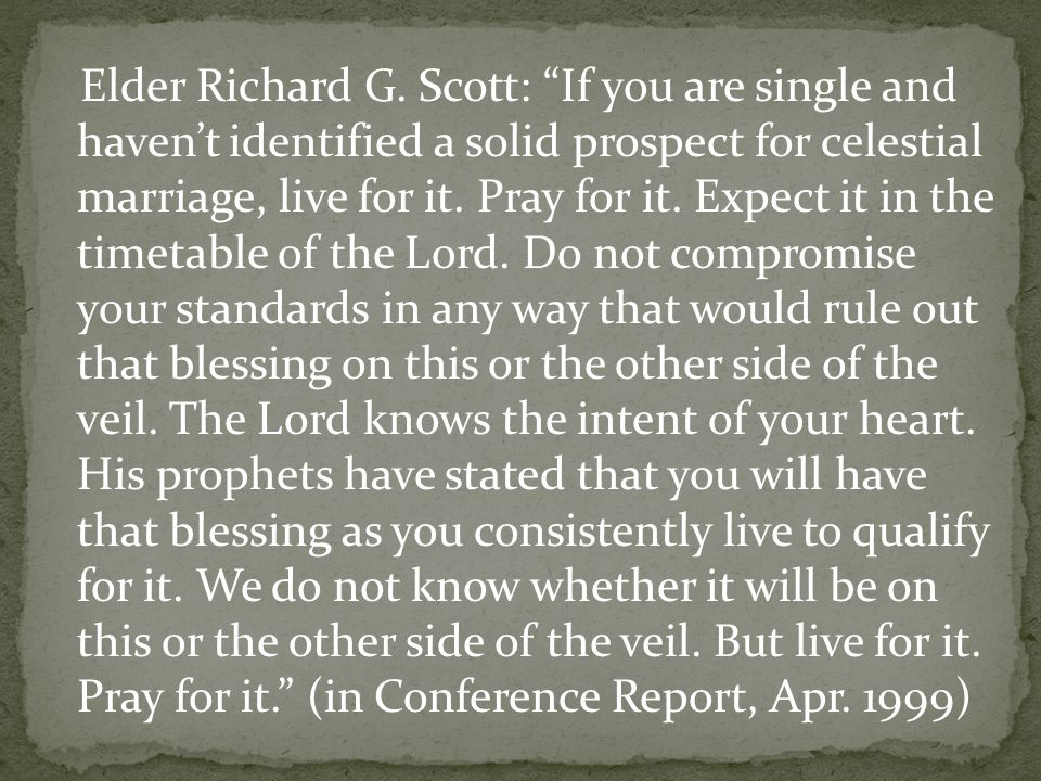 Elder Richard G.