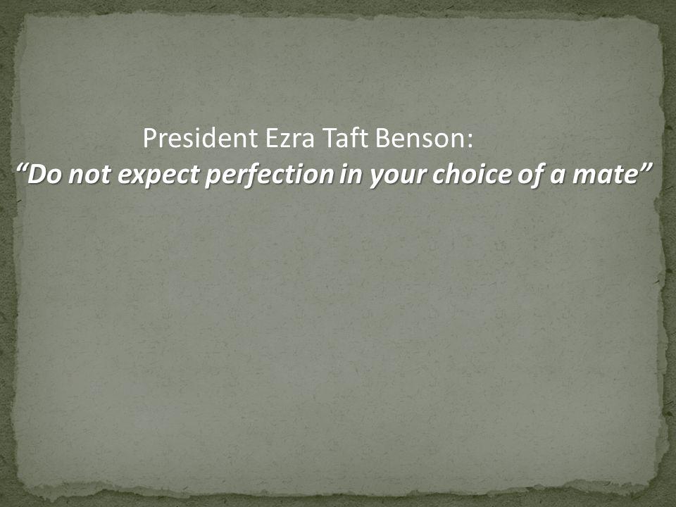 President Ezra Taft Benson:
