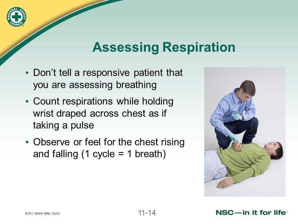 Assessing Respiration