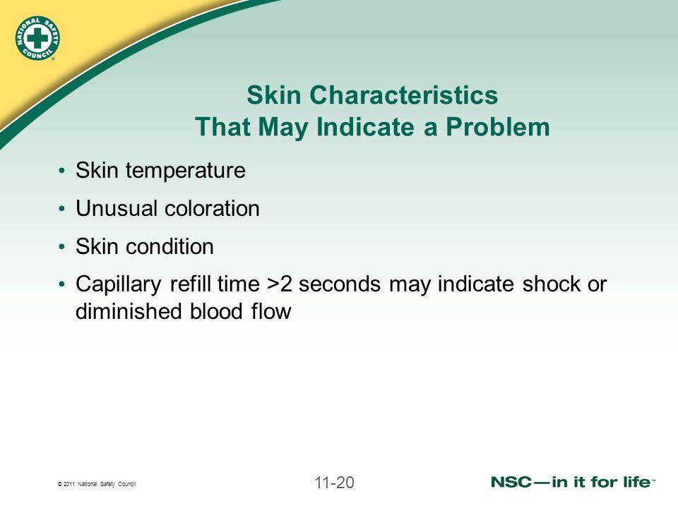 Skin Characteristics That May Indicate a Problem