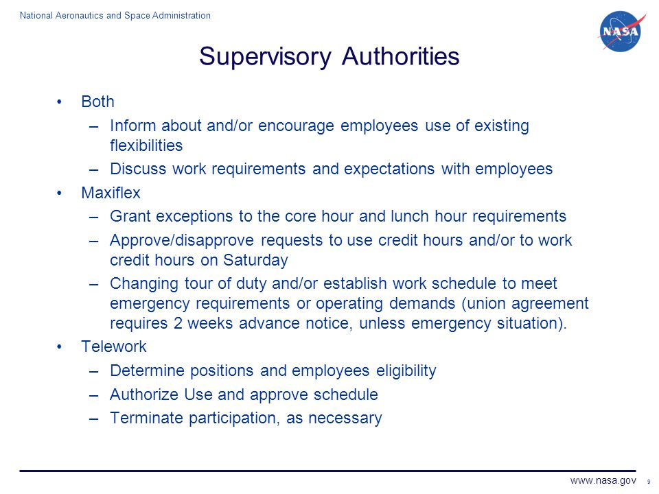 Supervisory Authorities