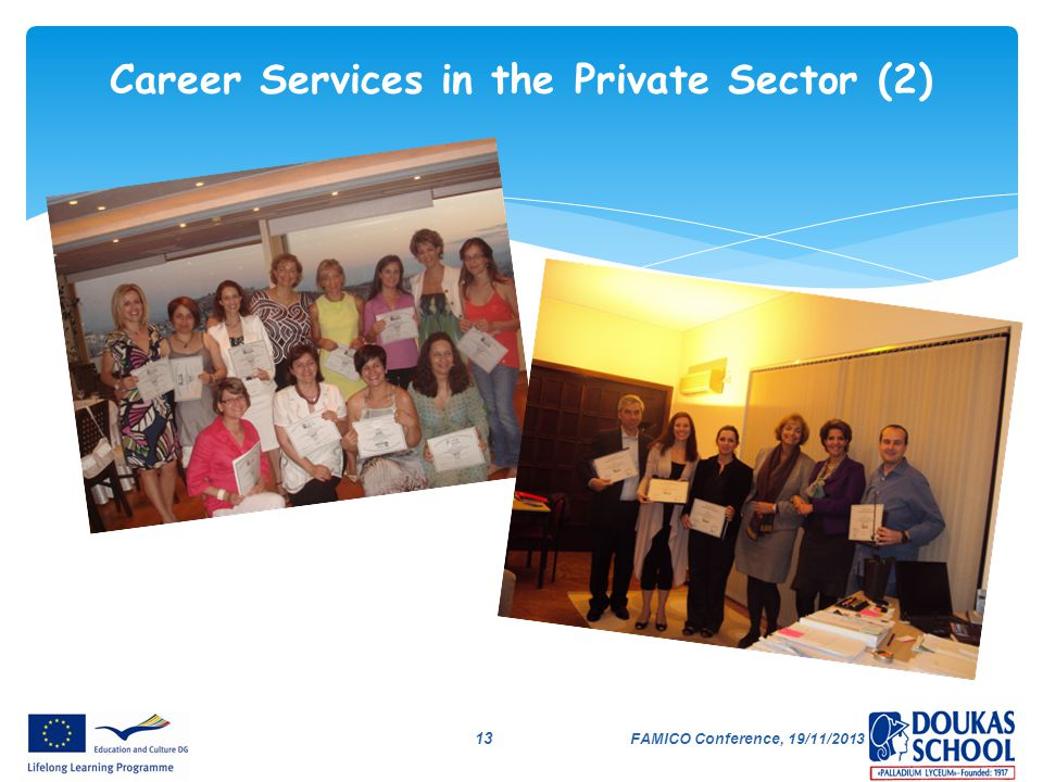 Career Services in the Private Sector (2)
