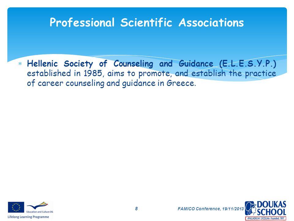 Professional Scientific Associations
