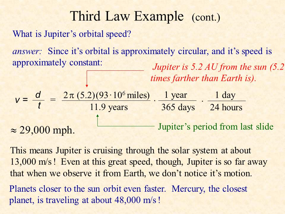 Third Law Example (cont.)