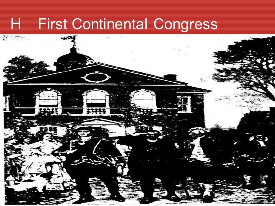 H First Continental Congress