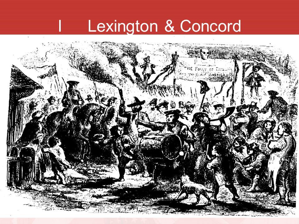 I Lexington & Concord
