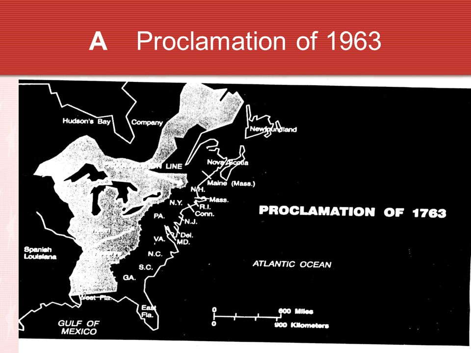A Proclamation of 1963