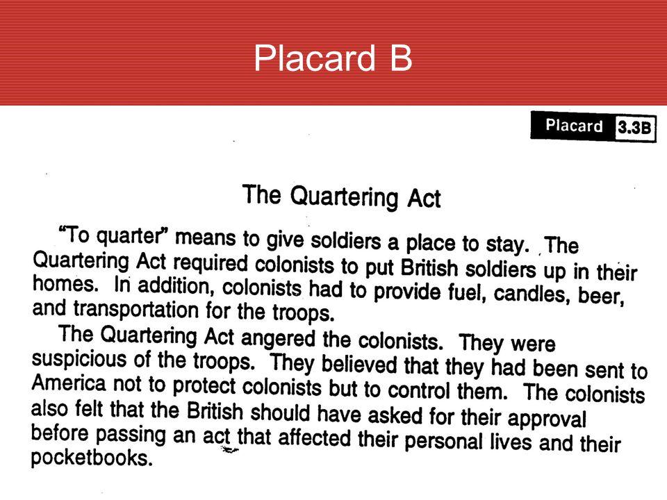 Placard B