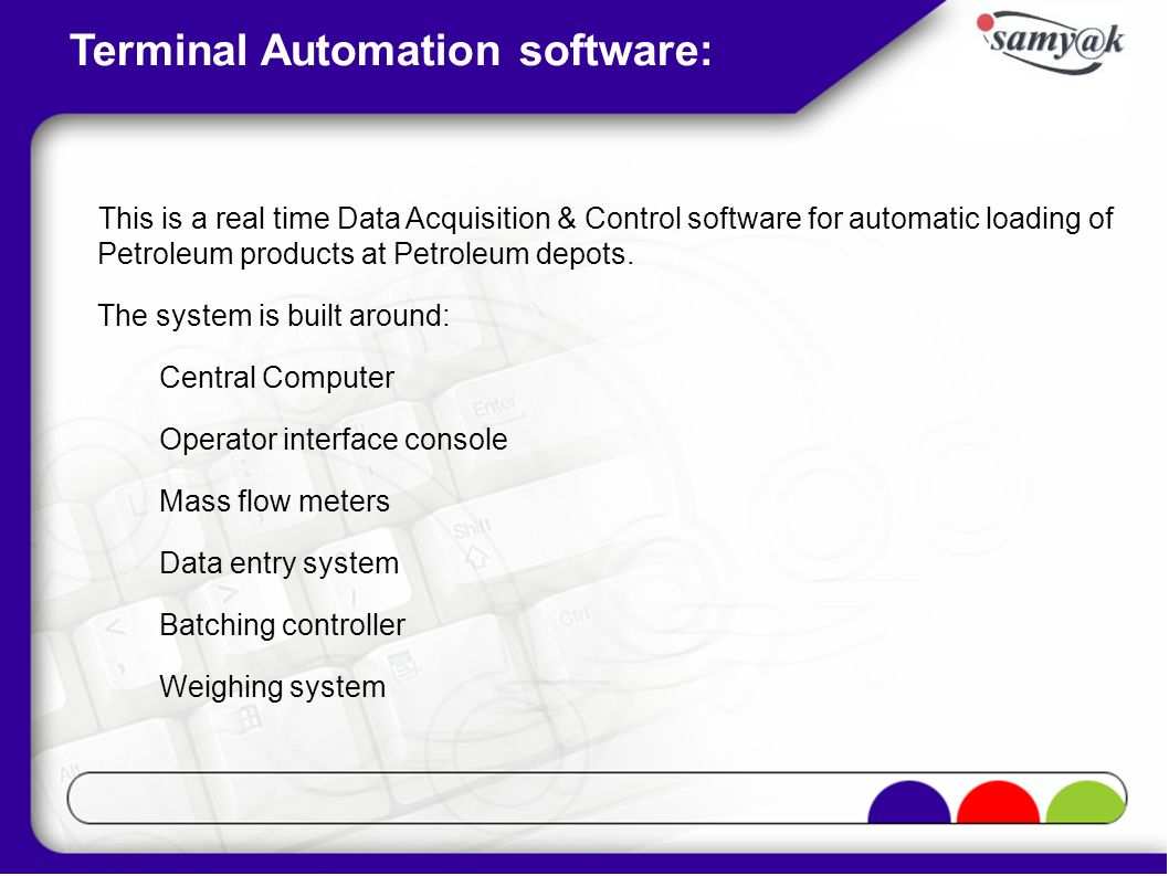 Terminal Automation software: