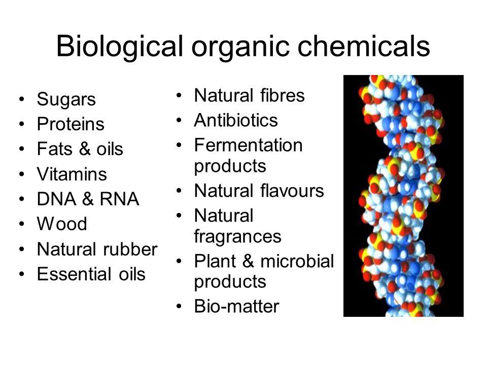 Biological organic chemicals
