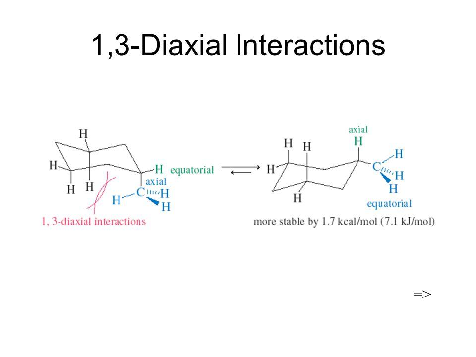 1,3-Diaxial Interactions