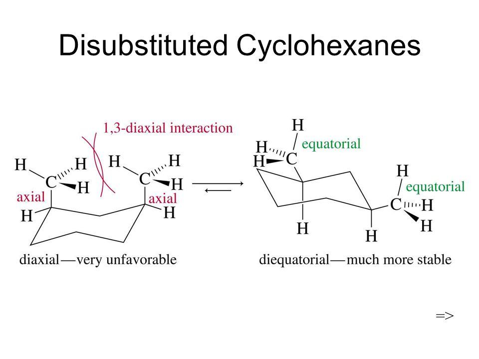 Disubstituted Cyclohexanes