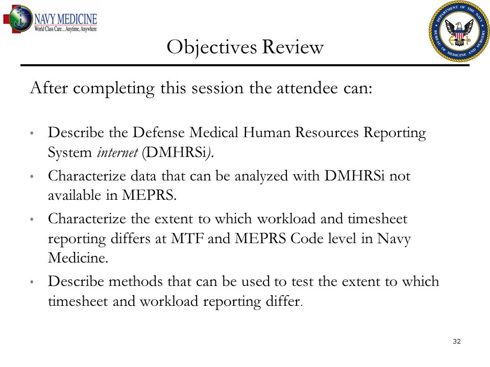 Objectives Review After completing this session the attendee can: