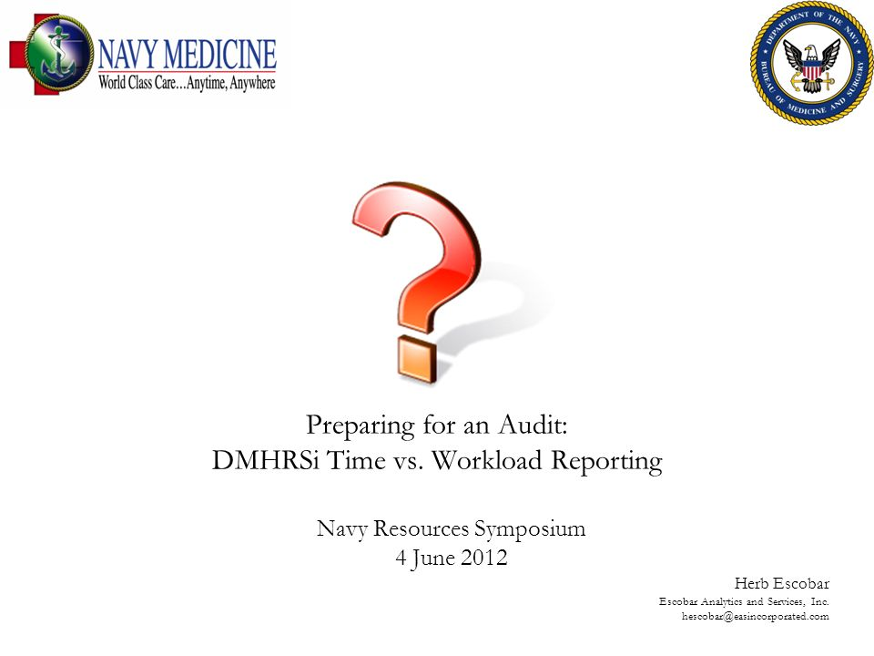 Preparing for an Audit: DMHRSi Time vs. Workload Reporting