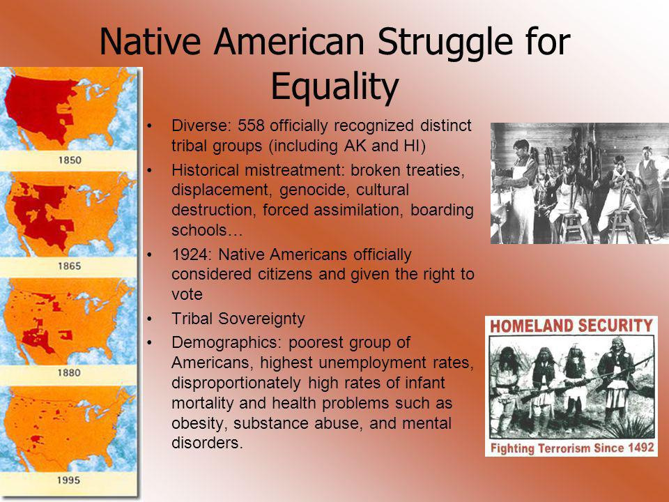 Native American Struggle for Equality