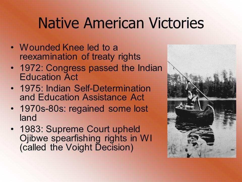 Native American Victories