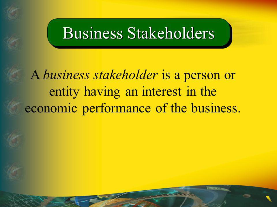 Business Stakeholders