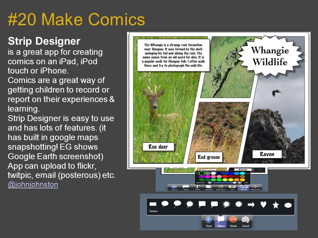 #20 Make Comics Strip Designer