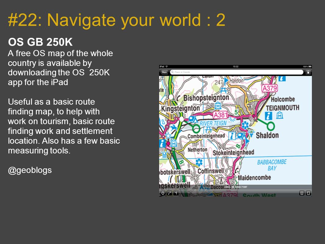 #22: Navigate your world : 2