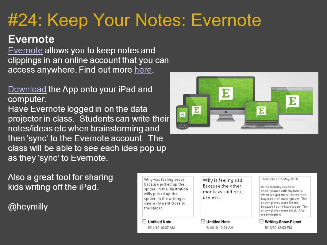 #24: Keep Your Notes: Evernote