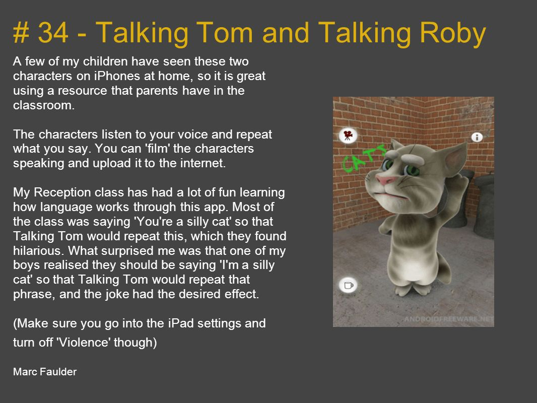 # 34 - Talking Tom and Talking Roby