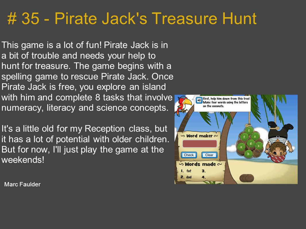 # 35 - Pirate Jack s Treasure Hunt