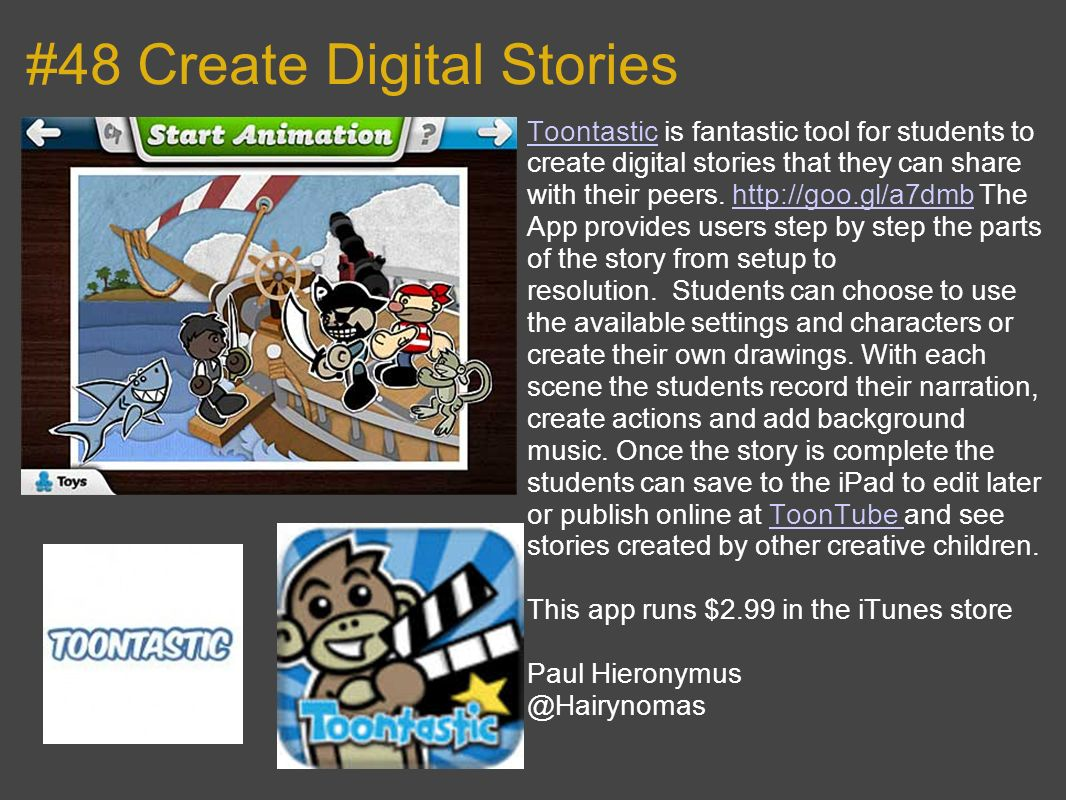 #48 Create Digital Stories
