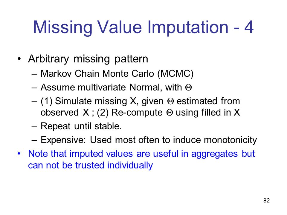 Missing Value Imputation - 4