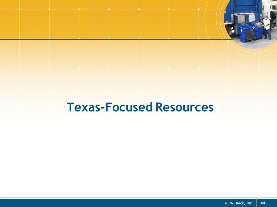 Texas-Focused Resources