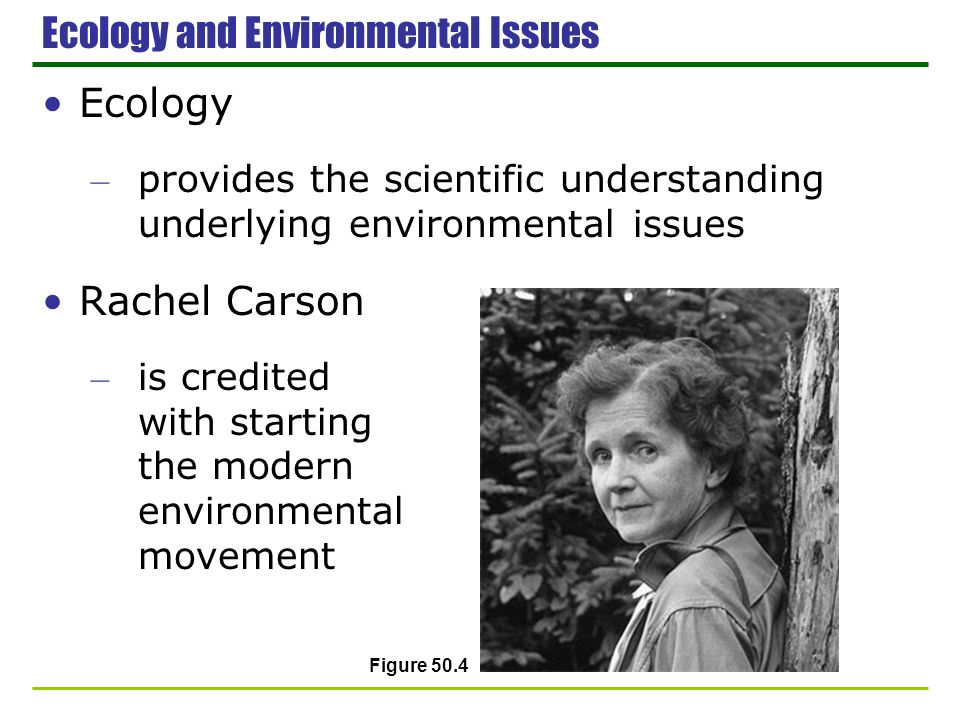 Ecology and Environmental Issues