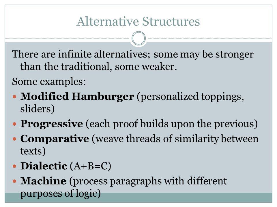 Alternative Structures