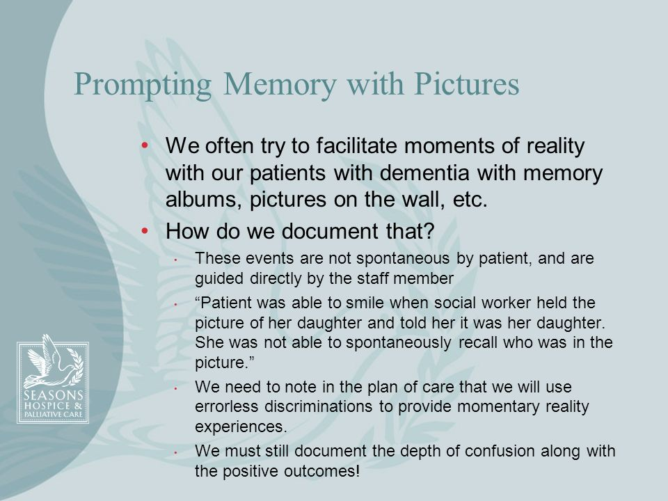 Prompting Memory with Pictures