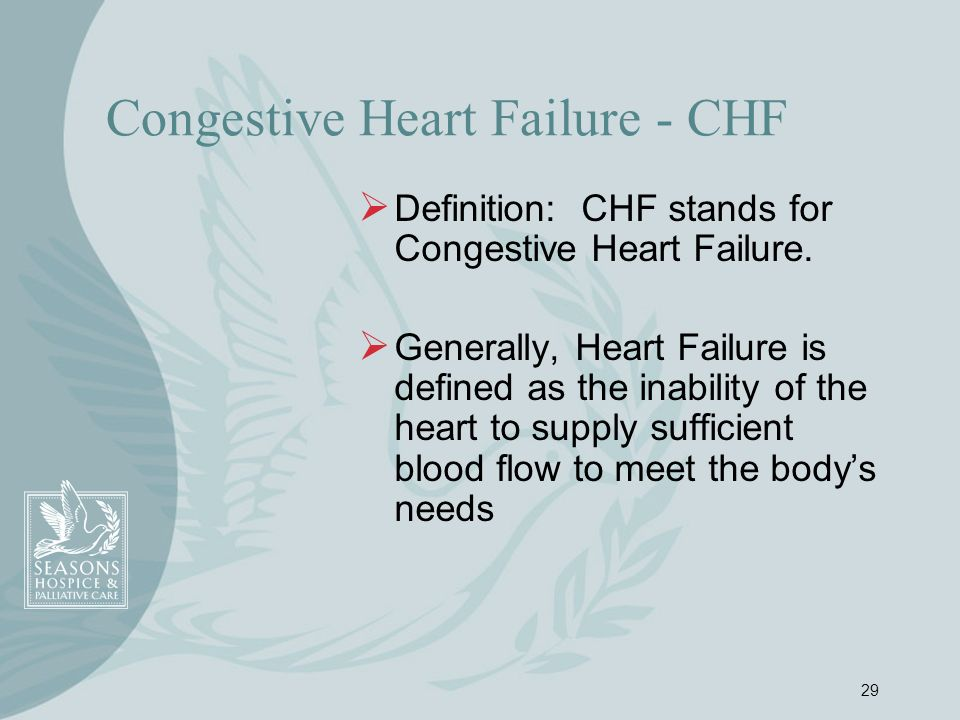 Congestive Heart Failure - CHF