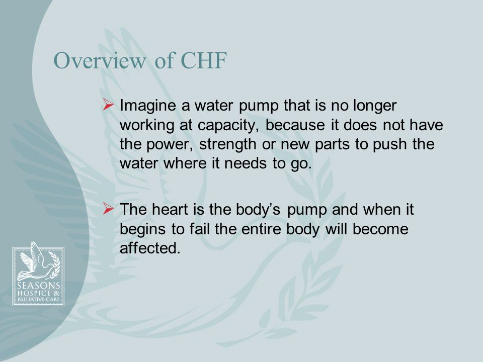 Overview of CHF