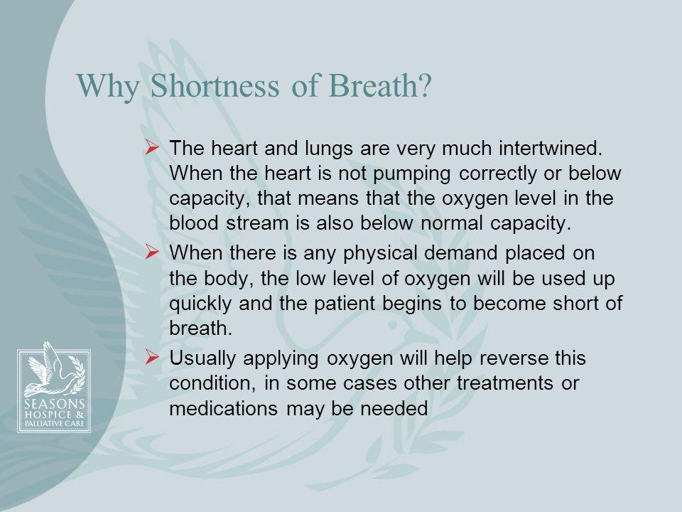 Why Shortness of Breath