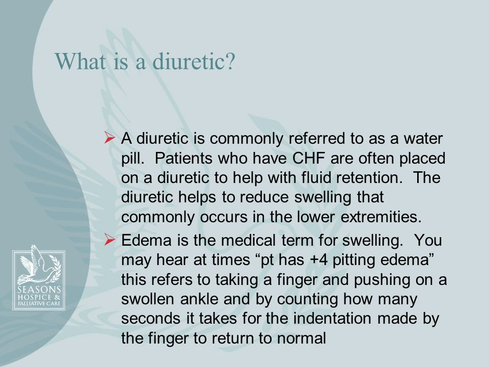 What is a diuretic