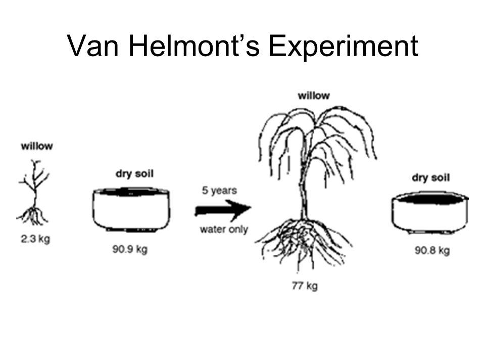 Van Helmont's Experiment